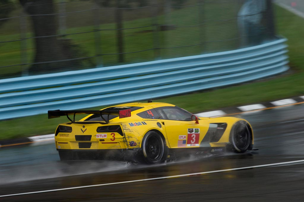 Corvette Racing at Watkins Glen: No.3 Corvette C7.R Finishes Fourth in the Wet