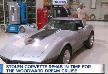 GM Helping to Get Stolen C3 Corvette Back on Road for Woodward Dream Cruise