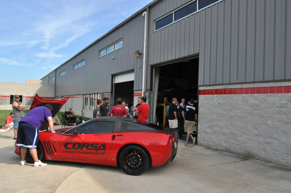 Corvettes at CORSA Show is July 26th