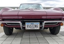The Corvette Vanity Plates of Bloomington Gold 2015