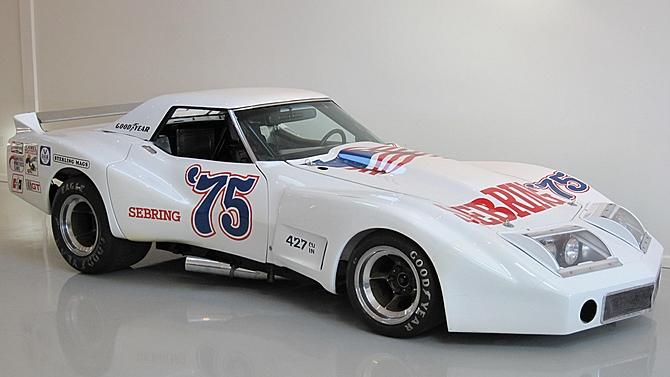 Mecum to Auction John Greenwood's Spirit of Sebring '75 Corvette Racecar