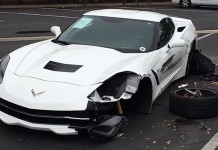[ACCIDENT] Walk Around of a C7 Corvette Stingray Hit by a Drunk Driver