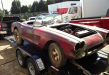 Corvettes on eBay: Barn Find 1960 Corvette Would Make a Great Project Car