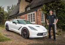 [PICS] Corvette Racing's Oliver Gavin Takes Delivery of a Corvette Stingray