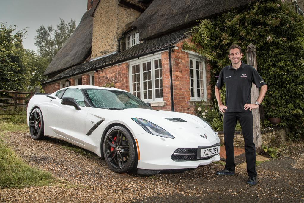 [PICS] Corvette Racing's Oliver Gavin Takes Delivery of a Corvette Stingray