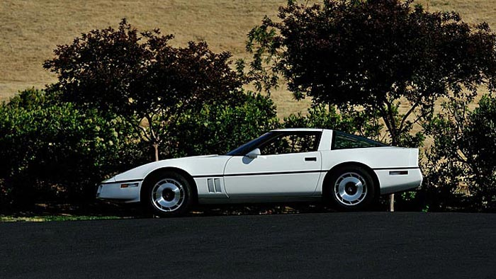 The First Available 1984 Corvette to be Offered at Mecum Monterey