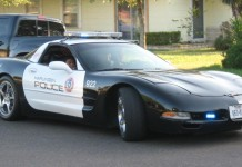 Corvette Police Cars (34 Corvette photos)