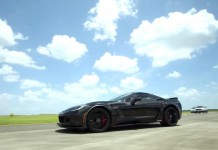 [VIDEO] Hennessey Performance Runs a Corvette Z06 to 175 MPH!