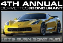 Register for the 4th Annual Corvettes at Bondurant