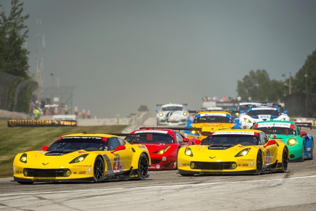 Corvette Racing At Road America Familiar Surroundings For