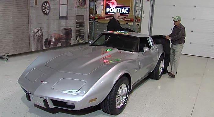 [VIDEO] GM Refurbs Detroit Man's Stolen Corvette in Time for the Woodward Dream Cruise