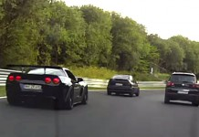 [VIDEO] C6 Corvette Z06 Loses a Wheel on the Nurburgring