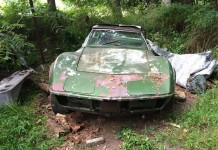 [PICS] 1972 Corvette Field Car Gets a Second Chance on eBay