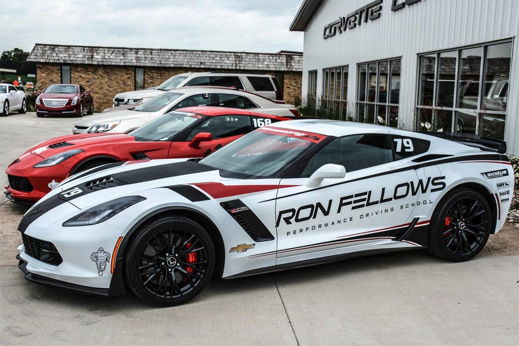 Ron Fellows Performance Driving School Named Official Driving School of Corvette Funfest