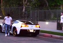 Rich Kid Gives Away a Free C7 Corvette Stingray to a Complete Stranger
