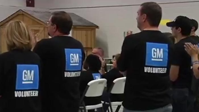 Corvette Assembly Plant Employees Give Back to Community