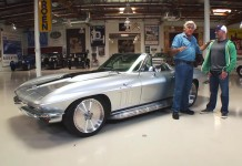[VIDEO] Joe Rogan's 1965 Corvette Restomod Visits Jay Leno's Garage
