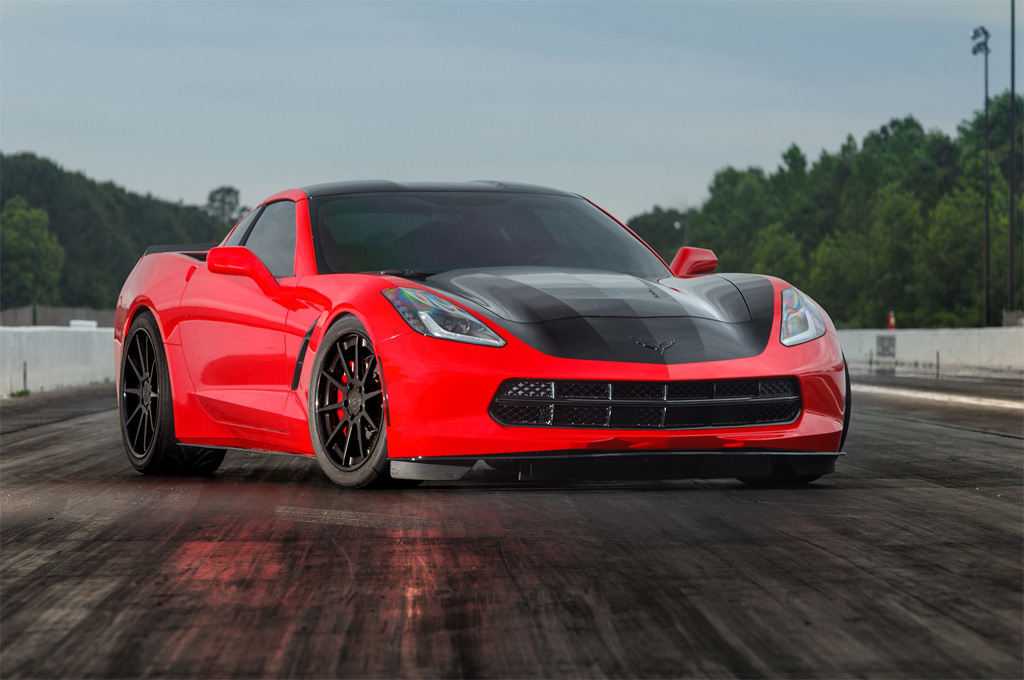 This 2014 Corvette Stingray was the World's First with 1,000 RWHP
