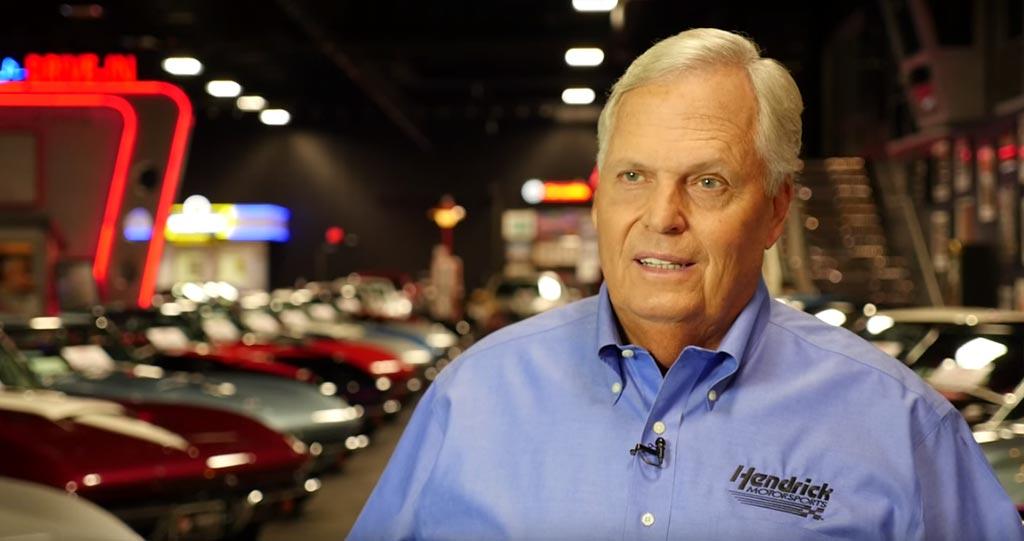 [VIDEO] Rick Hendrick's Corvette Hall of Fame Induction Video