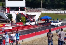 C6 Corvette Reels in a Tesla Model S at the Track