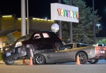 [ACCIDENT] Corvette Wedges Under SUV in Montana