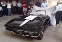 [VIDEO] Rick Hendrick Reveals his 'New' First Corvette with Help from Brad Paisley