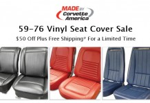 Save on 1959-76 Corvette Vinyl Seat Covers at Corvette America