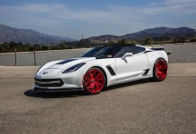 [PICS] Forgiato's 800-HP Widebody Corvette Z06 with Custom Red Wheels