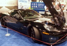 Genovation GXE Corvette EV Breaks Cover at Battery Show 2015