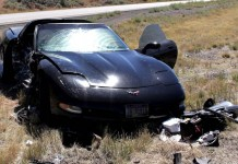 [ACCIDENT] Combination of Speed and Bad Tires Led to Corvette Crash on Interstate 15