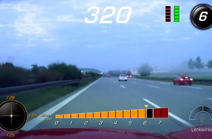[VIDEO] Top Speed Corvette Z06 Run on the Autobahn