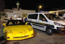 Corvette Parked at Holy Site in Israel Raises Questions