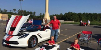 [PIC] Custom Corvette Stingray and Two Matching Power Wheels for the Kids