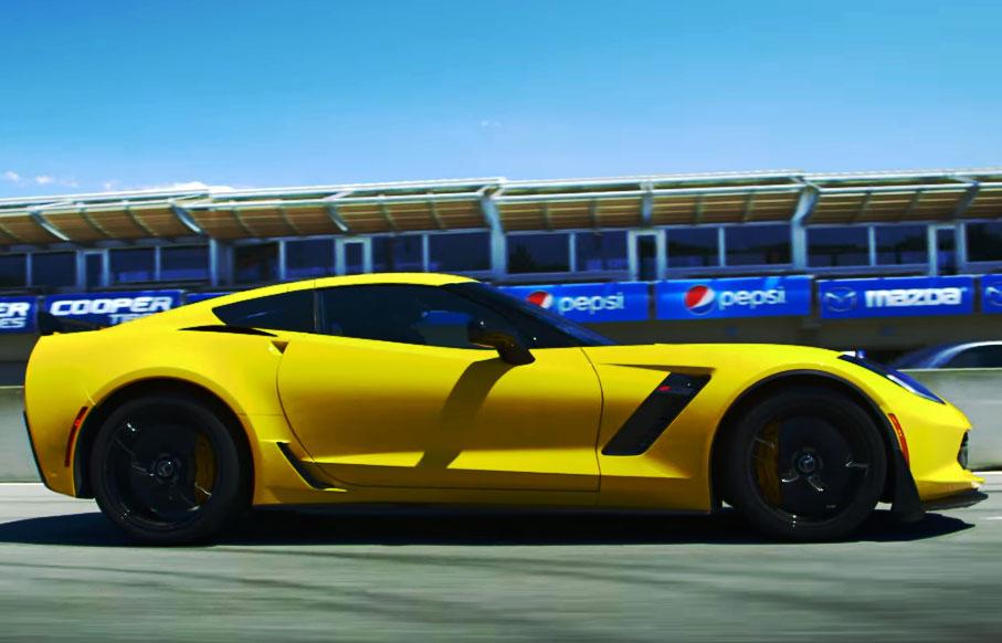 [VIDEO] Corvette Z06 Breaks During Motor Trend's Best Driver's Car Test