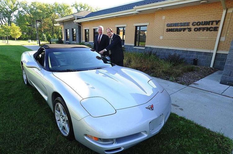 Seized C5 Corvette in New York to be Auctioned