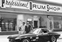 [PIC] Throwback Thursday: 1963 Corvette Sting Ray Racer at the Drum Shop