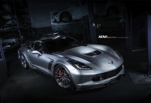 Silver Corvette Z06 With ADV.1 Wheels