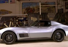 [VIDEO] Jimmie Johnson and His 1971 SEMA Corvette Visit to Jay Leno's Garage
