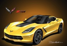 Hang a Replica of Your Corvette on the Wall with Artwork from Danny Whitfield