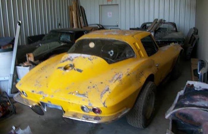 Corvettes On Craigslist Wrecked And Parked 1965 Corvette