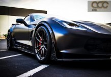 Corvette Z06 Gets a Satin and Carbon Fiber Overhaul from ACG Automotive