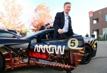 Colorado's Governor Drives Semi-Autonomous Corvette Stingray