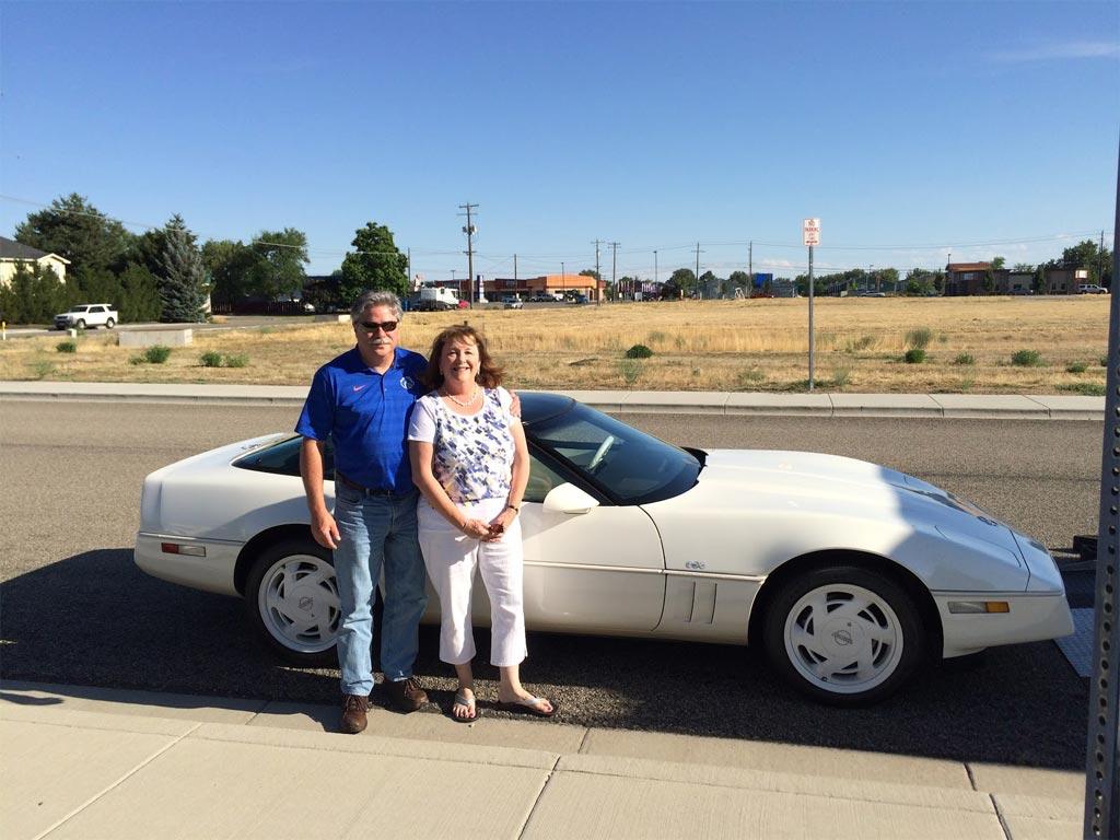 Idaho Couple Donates a 1988 35th Anniversary Corvette to the National Corvette Museum