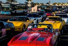 Corvettes Gather in the Middle East to Help Fight Breast Cancer