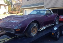 Corvettes on eBay: Garage Find 1970 LT1 Corvette Parked Since 1976