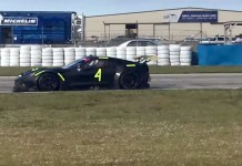 [VIDEO] More Testing for Corvette Racing's C7.R at Sebring
