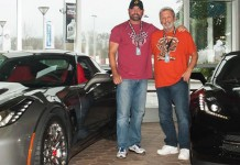 Son Surprises Dad with a New Corvette Stingray at the Corvette Museum