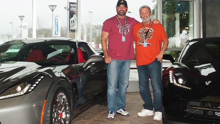 Son Surprises Dad with a New Corvette Stingray at the Corvette Museum