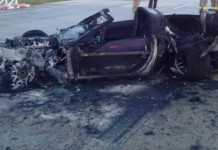 [VIDEO] Street Racing C6 Corvette Crashes at 150 MPH