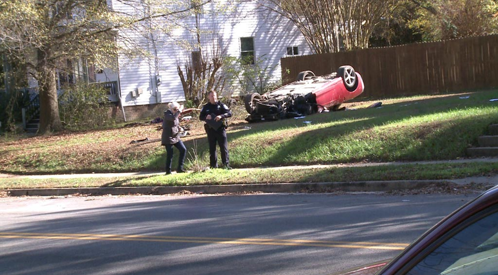 [ACCIDENT] Driver Killed When Corvette Goes Airborne in Crash